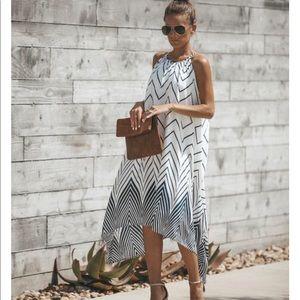 Vici Geo print dress